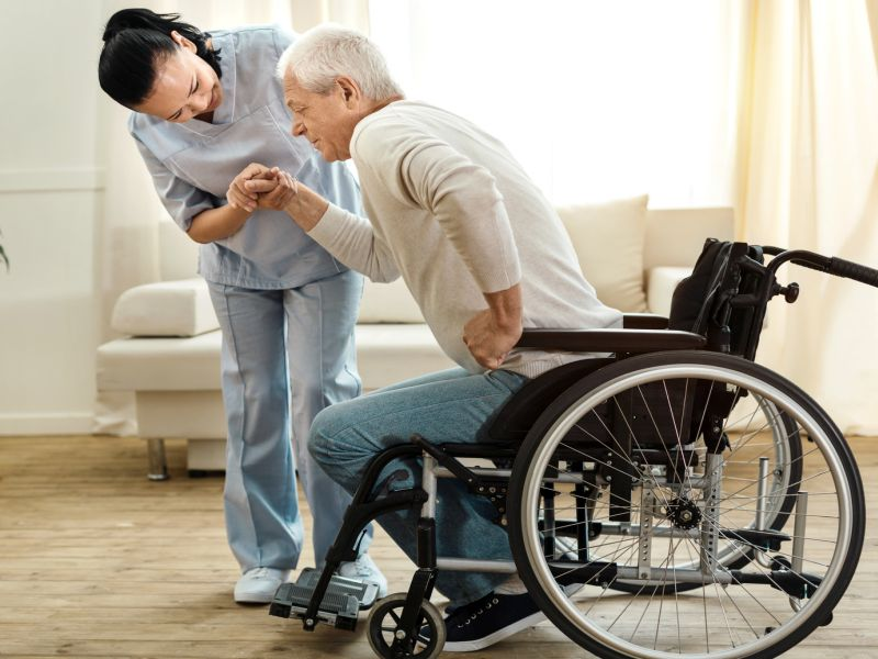 News Picture: Nearly 1 in 4 Home Care Aides Faces Verbal Abuse