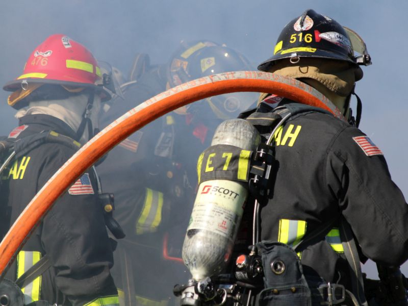 News Picture: Sleep Troubles Help Drive High U.S. Firefighter Burnout Rate