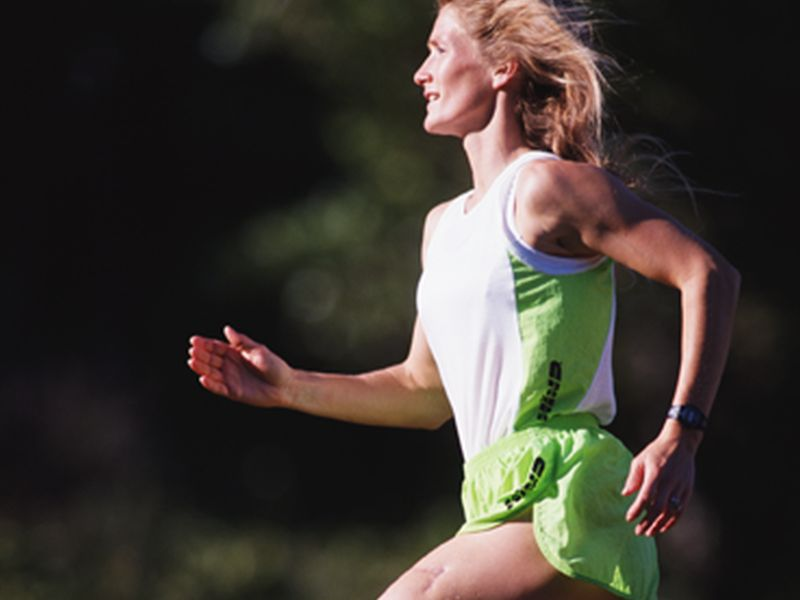 News Picture: The Right Gut Bacteria May Give Athletes an Edge