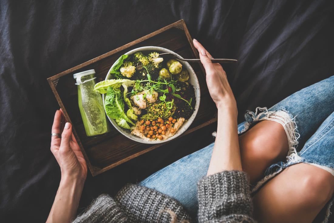 Vegans and vegetarians have a potential risk of B vitamin deficiencies.