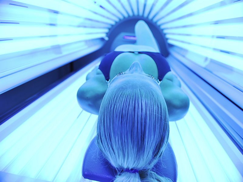 News Picture: Why Do Young Women Get Addicted to Indoor Tanning?