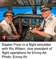 News Picture: AHA News: With Help, Boy's Dreams of Flight Get to Soar Despite His Heart Issues