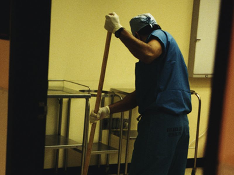 News Picture: Disinfectants Can't Stop This Dangerous Hospital Germ