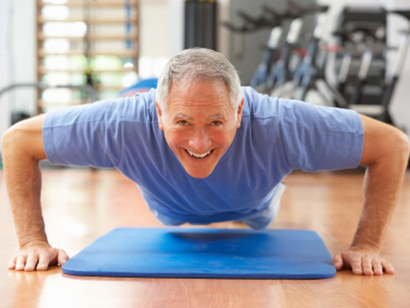 News Picture: Exercising When You Have High Blood Pressure