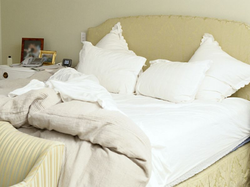 News Picture: Is Your Mattress Releasing Toxins While You Sleep?