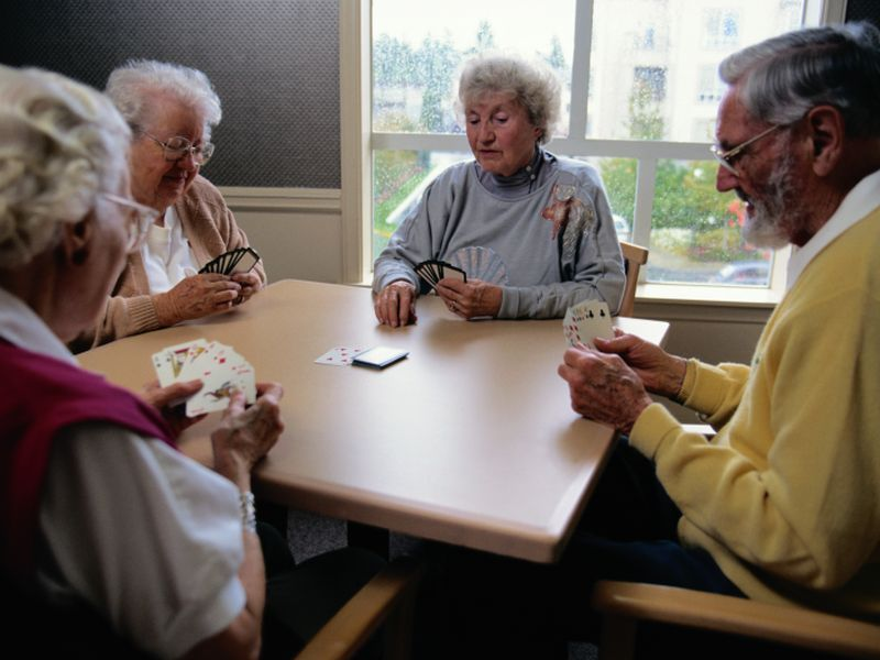 News Picture: More Evidence That Socializing Helps Protect the Aging Brain