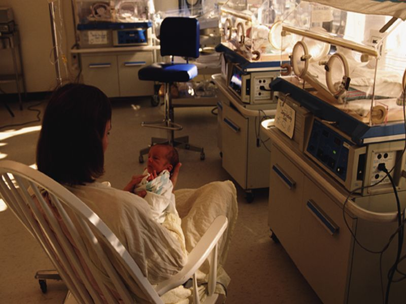 News Picture: Stress Takes Toll in Very Complicated Births