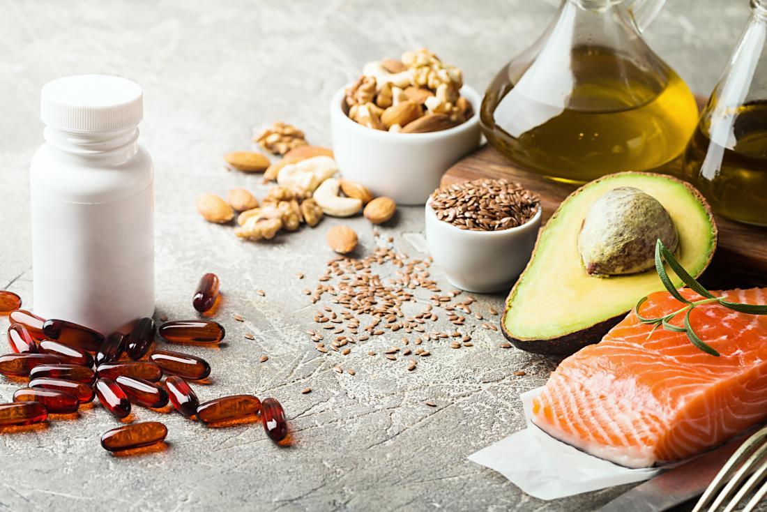 image of healthy foods vs supplements
