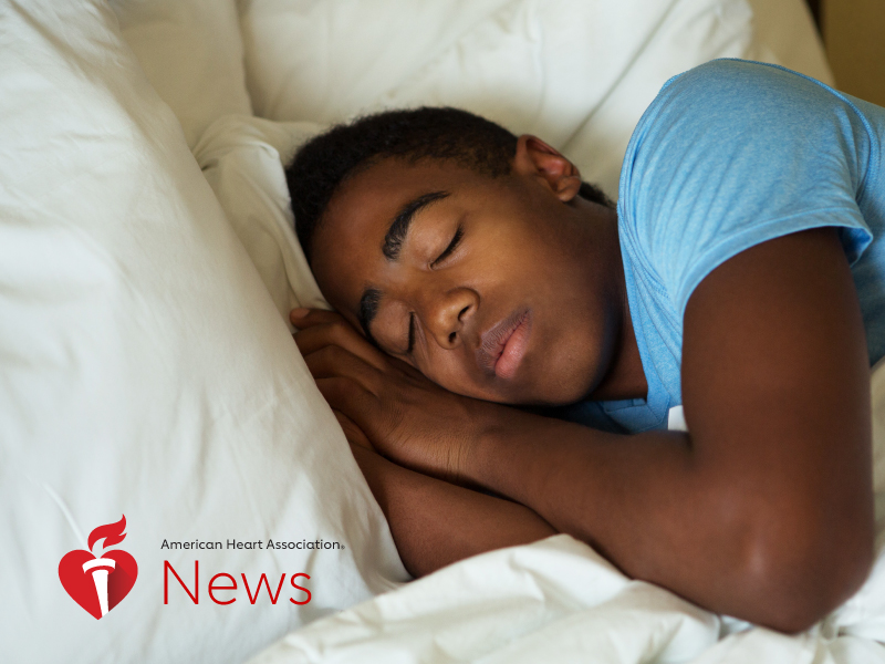 News Picture: AHA News: A Wake-Up Call on Teen Sleep: Why Doctors Want School Bells to Ring Later