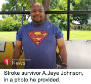 News Picture: AHA News: Stroke Showed He Wasn't Bulletproof – But He Could Still Be a Hero