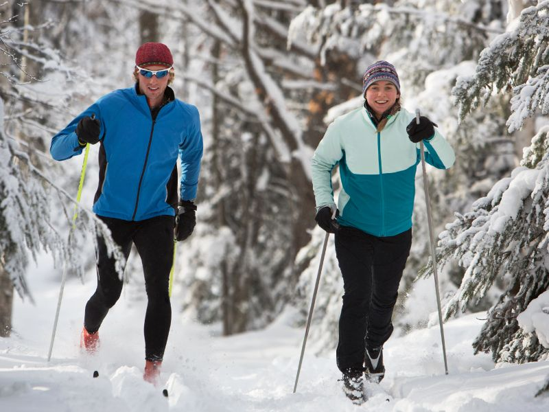 News Picture: AHA News: Study of Skiers Holds Surprises About A-Fib, Stroke and Intense Exercise