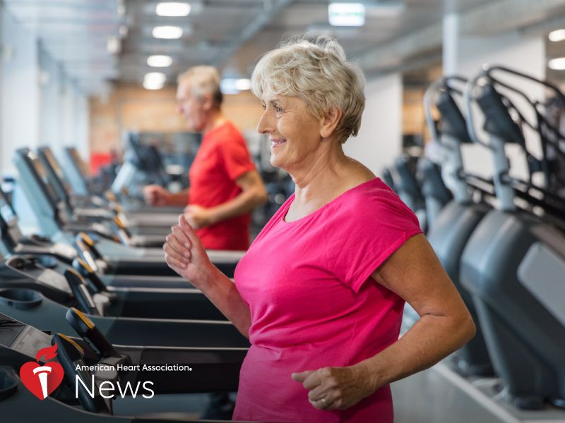 News Picture: AHA News: Tiring Easily May Warn of Future Heart Trouble