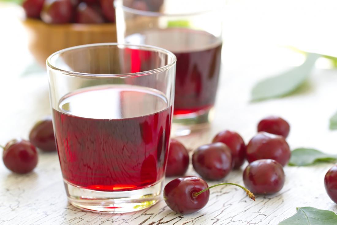 Cherry juice improves cognitive decline