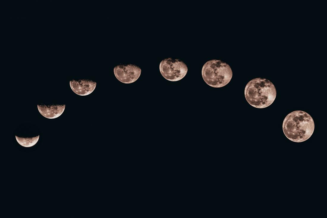 moon phases and moon cycles