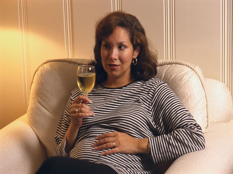News Picture: Even a Little Drinking While Pregnant Ups Miscarriage Odds: Study