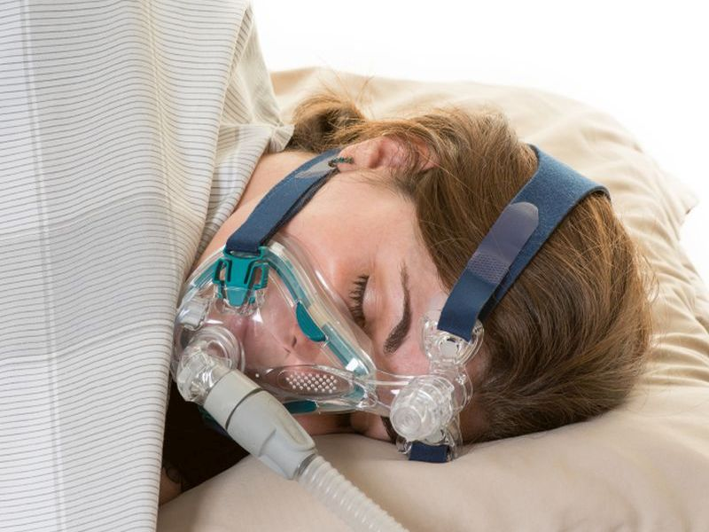 News Picture: For Heart Patients, CPAP Treatment May Ease Depression: Study