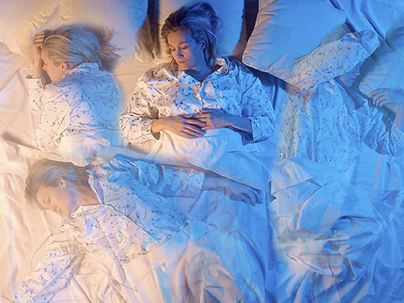 News Picture: How Sleep Woes May Strain Your Heart