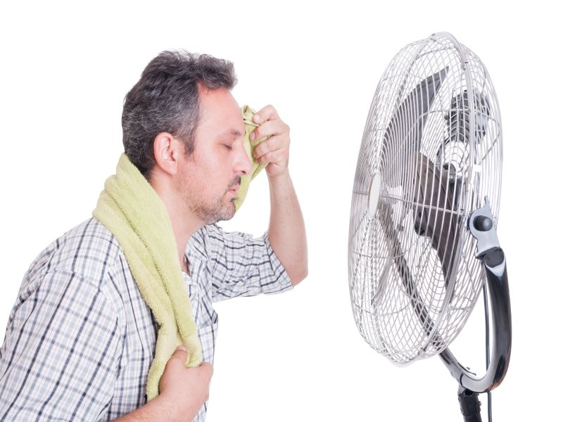 News Picture: In Heat Waves, Fans May Do More Harm Than Good