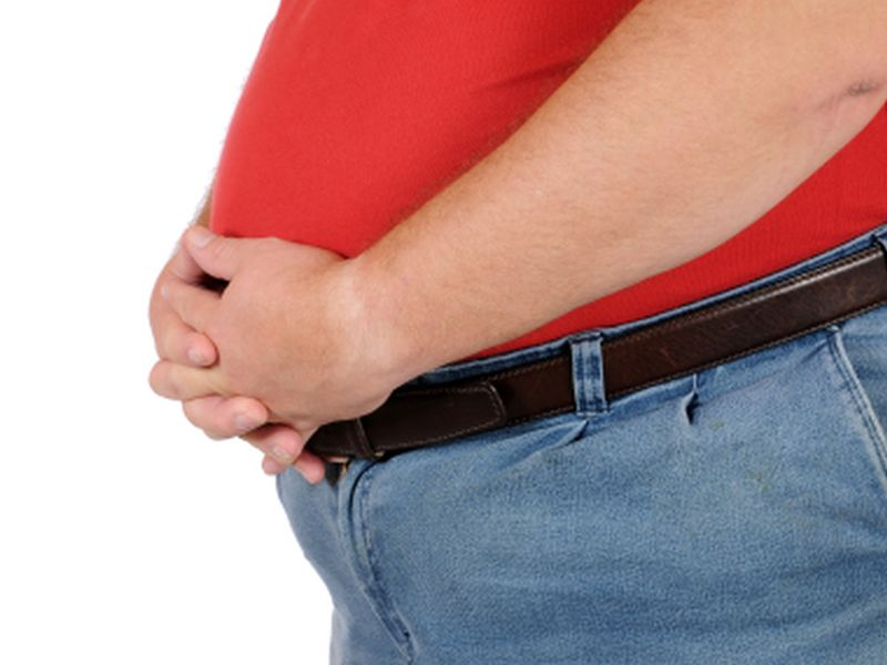 News Picture: Overweight Men May Feel Stigmatized, Too