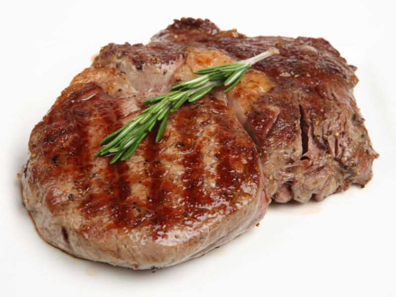 News Picture: Red Meat May Raise Breast Cancer Risk
