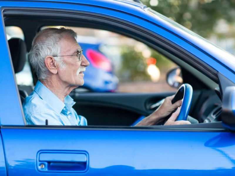 News Picture: When Is It Time for Seniors to Hand Over the Car Keys?