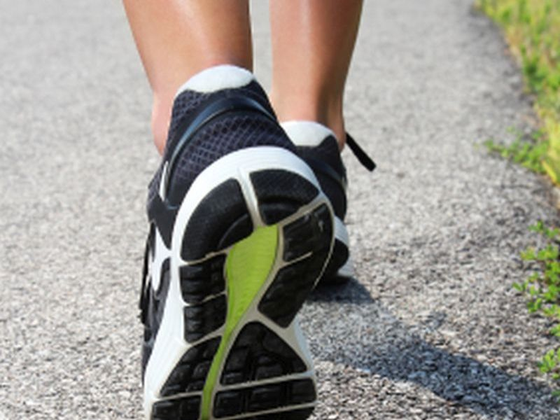 News Picture: When to Replace Athletic Shoes