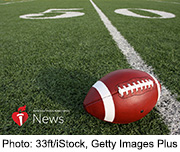 News Picture: AHA News: Do NFL Players' Hearts Take a Hit From Football?