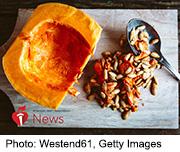 News Picture: AHA News: Pumpkin Pulp, Seeds Lower Blood Pressure in Rat Study