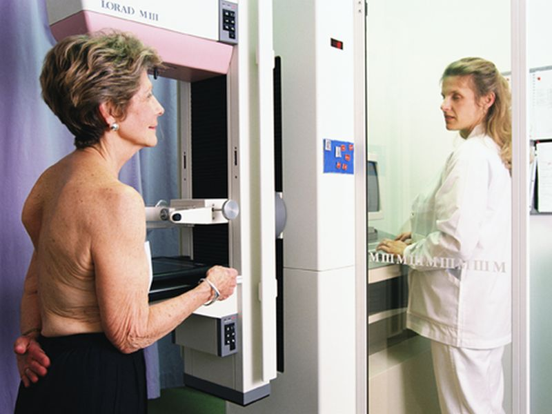 News Picture: Can Older Women Stop Getting Mammograms?