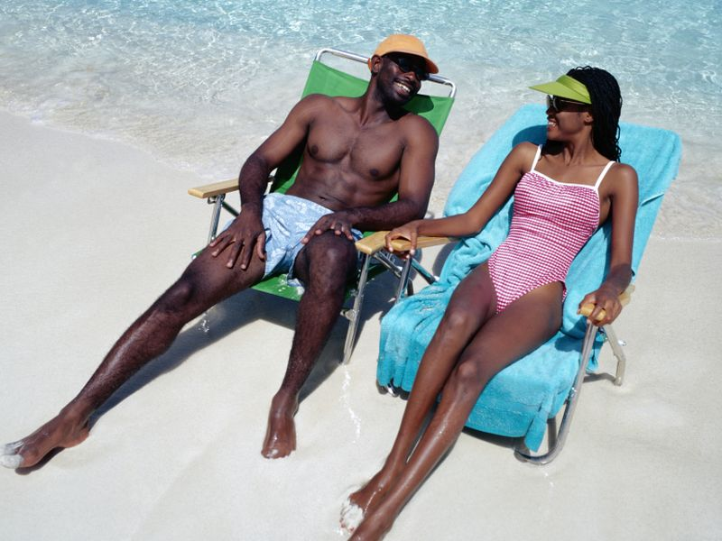 News Picture: Dark Skin No Protection Against Sun's Harmful Rays