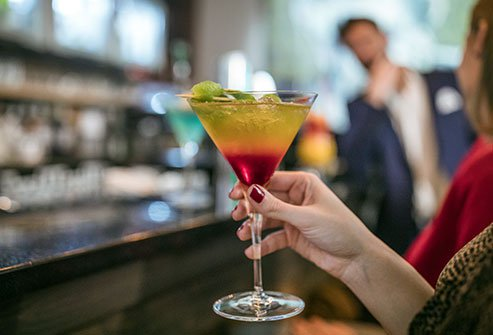 Someone may spike your drink with a date rape drug without you knowing.