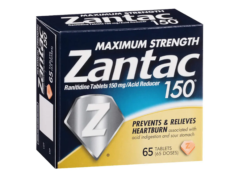 News Picture: Heartburn Drug Zantac May Contain Small Amounts of Known Carcinogen, FDA Says