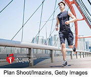 News Picture: AHA News: The Road to Better Exercise Might Be in Your Playlist