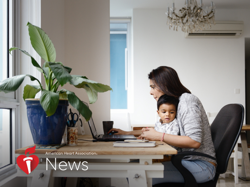 News Picture: AHA News: Torn Between Work and Family? It May Not Be Good for Heart Health