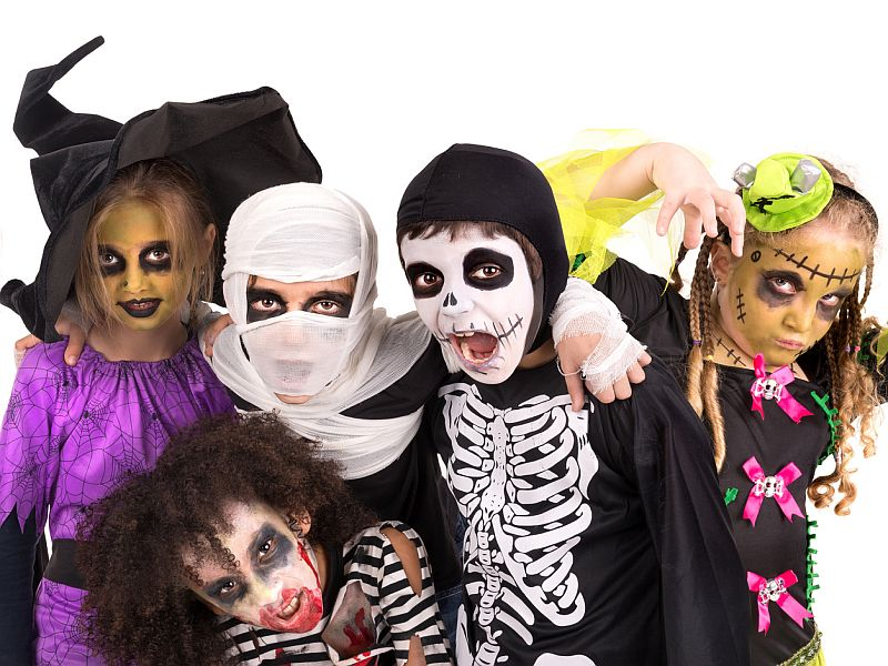 News Picture: How to Keep Halloween Fun and Safe