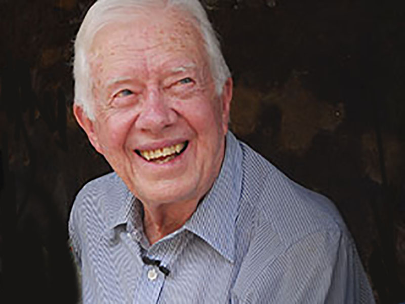 News Picture: Jimmy Carter Recovering From Broken Pelvis After Fall