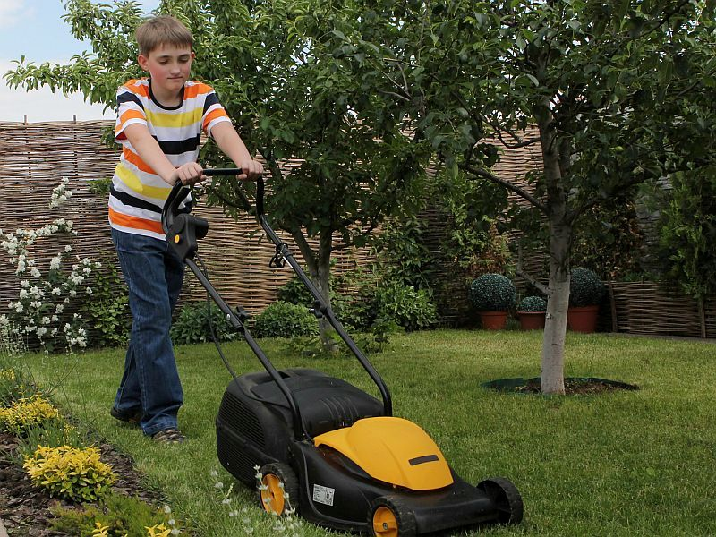 News Picture: Lawn Mowers May Be Even More Dangerous for Rural Kids