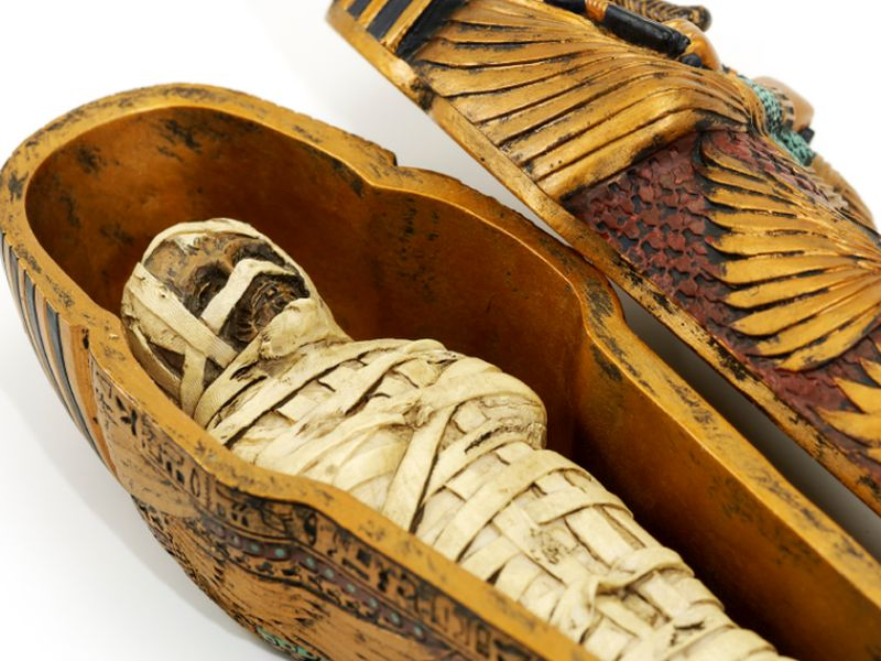 News Picture: Mummy's Curse: Heart Disease Is an Ancient Scourge