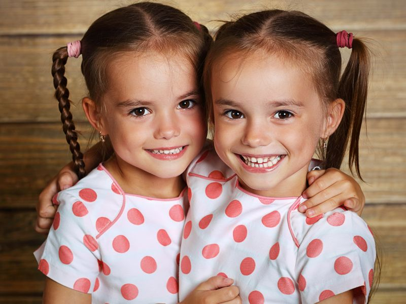 News Picture: Twins Are Becoming Less Common in U.S., for Good Reasons