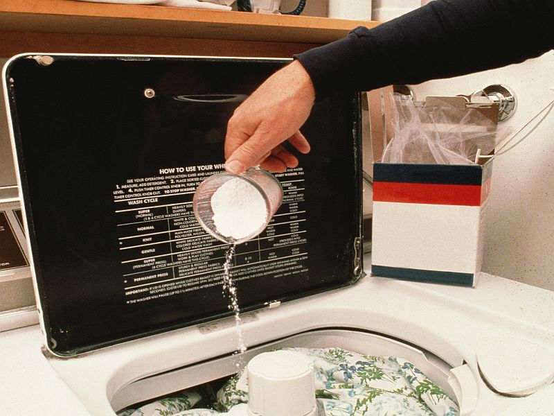 News Picture: Your Washer Might Be Breeding Drug-Resistant Germs