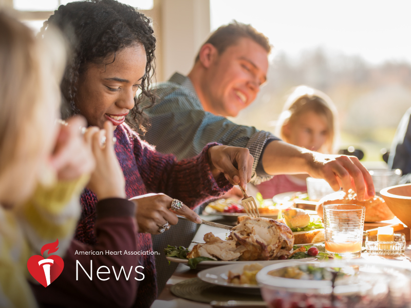 News Picture: AHA News: Eating Mindfully Through the Holidays – and All Year