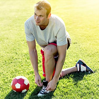 Some people are more prone to ingrown toenails, especially athletes.