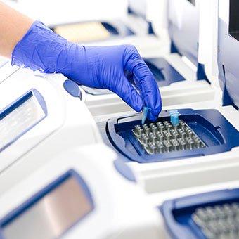 Norovirus is diagnosed through laboratory testing.