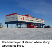 News Picture: Antarctic Study Shows Isolation, Monotony May Change the Human Brain