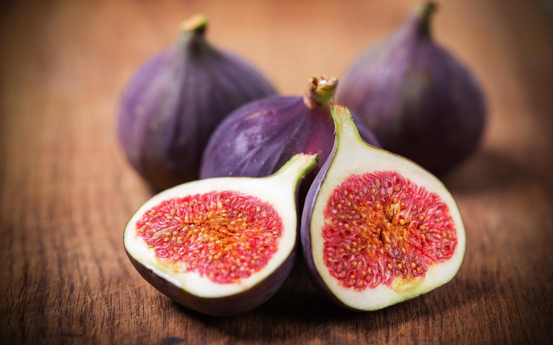 figs on a table that may be beneficial to health