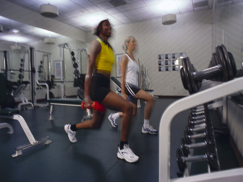 News Picture: A Workout Could Be Good Medicine for the Common Cold