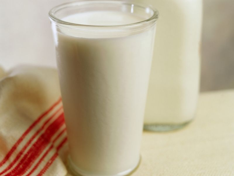 News Picture: Could a Switch to Skim Milk Add Years to Your Life?