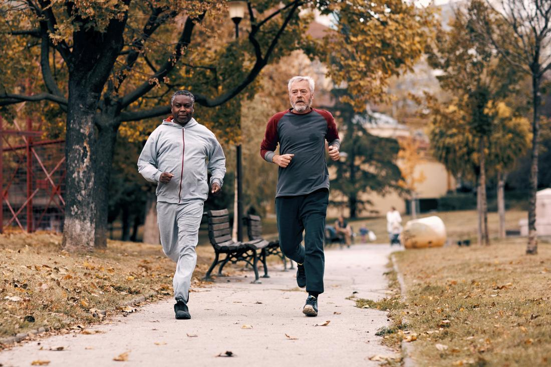 seniors running