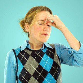 Sinus headaches cause head and facial pain.