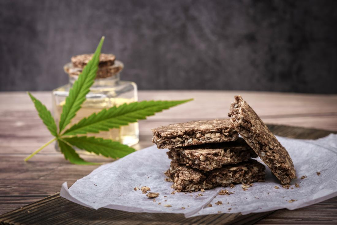 picture of cannabis cookies